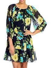 NEW - aDRESSing WOMAN Printed Woven  Off the Shoulder Dress & slip set - Sz 1X