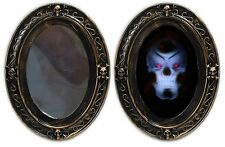 Haunted House Battery Operated Sound & Motion Activated Halloween Horror Mirror