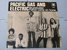 "Pacific Gas & Electric:   Bluesbuster  SCANDINAVIAN  7""     EX+"