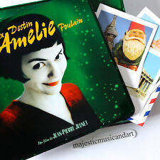 ORIGINAL PARIS FRANCE 2001 AMELIE BOX SET DVD CD POSTCARDS POSTER PHOTOS TIN