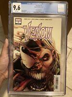 Venom 7 Secret Variant CGC 9.6 Marvel Comics 2018