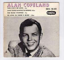 EP 45 TOURS ALAN COPELAND THIS CAN'T BE LOVE ECV 18.121 CORAL en 1958