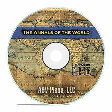 Annals of the World, by James Ussher, Biblical History of The World on CD F35