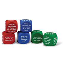 Reading Comprehension Cubes, 6/set