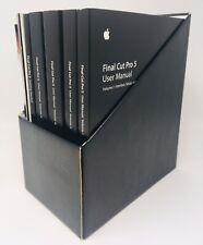 HD Apple Mac Final Cut Studio Pro 5 5.1 Manuals Retail NFR MA288Z/A No Discs