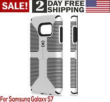 Samsung Galaxy S7 Phone Case Military-Grade Cover Tough Armor Dual Layer White