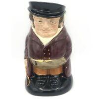 """Large 7.5"""" Vintage Royal Doulton Toby Jug Mug Stein The Huntsman Hunter England"""