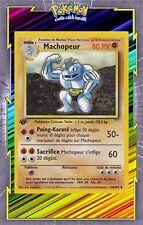 🌈Machopeur - Set de Base Edition 1 - 34/102 - Carte Pokemon Neuve Française