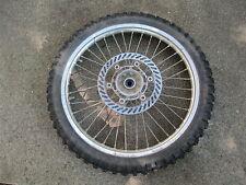 KAWASAKI KX250 1991 front rim wheel used kawasaki 250 motorcycle parts