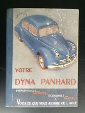 Guide technique pratique Votre Dyna Panhard  BON ETAT PLUS automobile