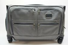 TUMI Alpha 2 Grey Nylon 4 Wheeled Garment Bag Carry On - 22038CG2E