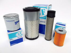 Engine service Filter Kit for Kubota KX36-3, KX41-3, SV