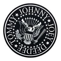 Ramones - Logo - Single Slipmat Black / White