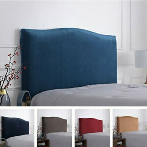 Elastic Bed Headboard Cover Bed Head Slipcover Protector L 1.2m1.5m1.8m 2m 2.2m