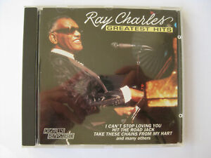 Ray Charles – Greatest Hits  | CD | Crossover Records 9109-2 USA