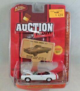 Johnny Lightning Auction Insanity '69 Dodge Coronet R/T Convertible NIP 1:64
