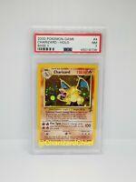 Rare Charizard Pokemon Card Holo PSA Near Mint Base Set 2 Foil 4/130 Original