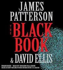The Black Book by James Patterson and David Ellis (2017, CD, Unabridged) NIB
