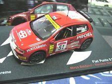 Fiat punto s1600 Super 1600 Rallye san remo baldacci #51 PROEL Ixo Altaya 1:43