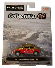 Greenlight California Toys Brazil 1950 Volkswagen Split Beetle Taxi Cab 1/64