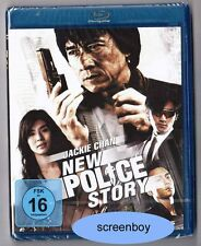 """NEW POLICE STORY"" - Jackie Chan - Action Kult - BLU RAY - neu/OVP"