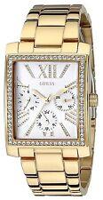 Guess Women's Gold Tone Multi-Function Rectangular Watch - U0446L2 MSRP $125