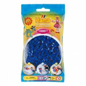 Hama 207-08 - Confezione  perline da stirare  color blu 1.000 pezzi