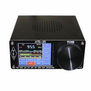 "ATS-25 Si4732 Full-Band Radio Receiver DSP FM LW (MW & SW) SSB 2.4"" Touch Screen"