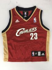 NBA Cleveland Cavaliers LeBron James #23 Adidas Swingman Jersey Youth Size 3T