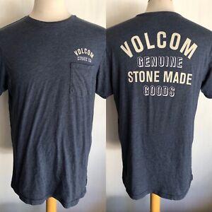 VOLCOM STONE CO. Official Men's Genuine Goods Pocket T-Shirt Size Large