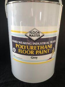 FLOOR MASTER GARAGE/WORKSHOP FLOOR PAINT 5LT GREY Used By the Professionals.