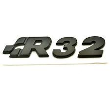 ** nuevo ** r32 v6 negro emblema VW volkswagen golf 4 5 gti turbo compresor Tuning