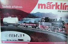 Märklin  29166  Spur H0 (16,5mm)  Startpackung  Güterzug Dampflok