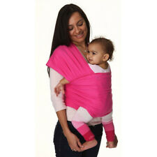 Baby Sling Stretchy Wrap Carrier Newborn + Free Matching Carrier Bag Pink