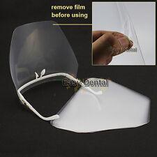 Eyewear Adjustable Detachable Full Face Shield with 10 detachable visors Dental