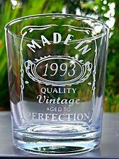 Jack Daniels Engraved Tumbler Glass - Birthday - Whiskey - New