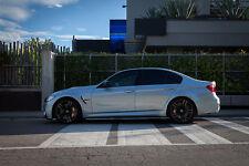 Carbon Spazzole per BMW M3 F80 M Sport Fiancate Minigonne Laterali Brancardi