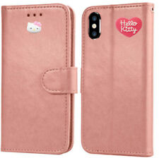 HELLO KITTY WALLET CASE FOR iPhone XS MAX / iPhone XR / iPhone XS /  iPhone X
