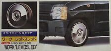 Fujimi 1/24 Work Leadsled 14 Inch Tire & Wheel Set New