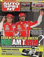 AutoSprint.Fernando Alonso & Felipe Massa,Sebastian Bourdais,Rubens Barrichello