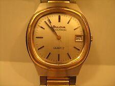 Vintage *WORKING* Analog MEN'S Wristwatch BULOVA Accutron QUARTZ [h1-1]