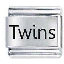 TWINS - Family - Daisy Charms by JSC Fits Classic Size Italian Charm Bracelet