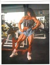 bodybuilder TAZZI COLOMB Female Bodybuilding Muscle Photo Color