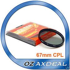 Premium Quality 67mm CPL Filter Canon Nikon Sony OZ