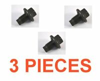 (3) 14mm 1.50 16mm Hex Drain Plugs W/ Rubber Inset Gaskets RPL F75Z-6730BA