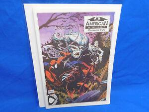 American Entertainment Catalog 20 Comic Book 1991 Todd McFarlane Spiderman Cover