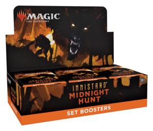 Innistrad: Midnight Hunt Set Booster Box - Magic The Gathering MTG Sealed