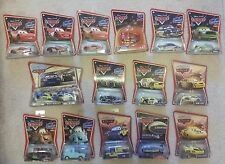 Disney Pixar Cars lot of 16 NIP Tow Cap Gasprin Halloween Cruisin' McQueen