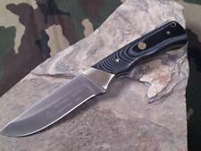 "Puma SGB Badlands Micarta Knife 8 3/8"" Fixed German Solingen Stainless 6817600M"