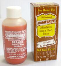 Orange Soft Drink Extract, 2oz
